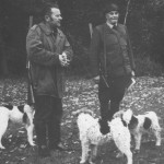 Z albumu kol. Świątkowskich - Franciszek Zajiczek i Edward Świątkowski