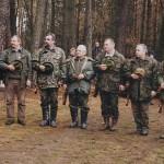 Uroczyste zakończenie polowania hubertowskiego w 2002 roku