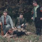 Kaziu Kolanowski, Rysiek Miś i Jasiu Robakowski