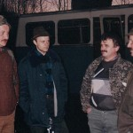 Piotr Zajiczek, Hubert Czerwiński, Zenon Jakubowski i Zdzisłąw Musiał