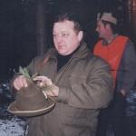 Stasiu Kozyra ze złomem