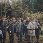Zakończenie polowania przy Rakoniewicach