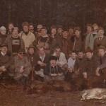 Zakończenie polowania gdzieś w połowie lat 80-tych