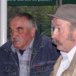 Zygmunt Błaszczyk i Kaziu Dwojak po walnym